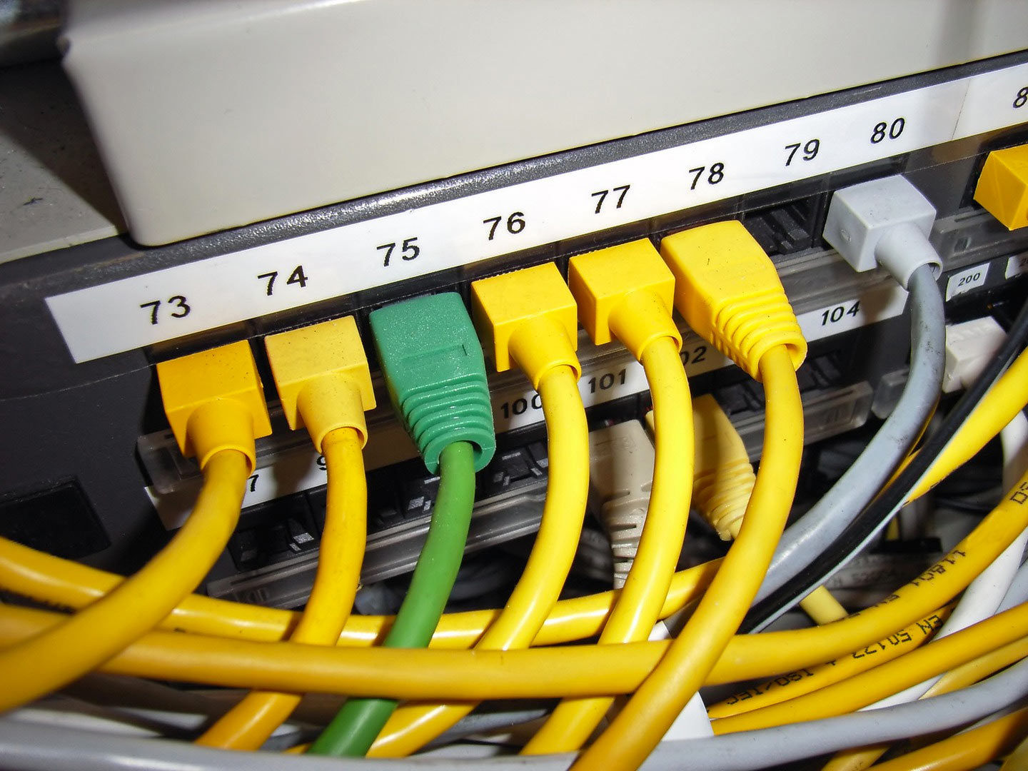 117 Network Cabling Wiring Cable Computer And Examples Lightbox Image